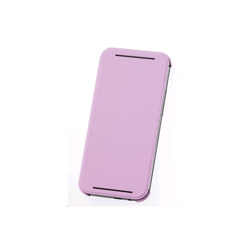 HC-V941 - Etui One M8 Double Dip Flip Różowy