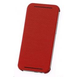 HC-V941 - Etui One M8 Double Dip Flip Czerwony