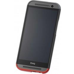 HC-C940 - Etui One M8 Szary/Czerwony