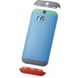 HC-C940 - Etui One M8 Niebieski/Zielony